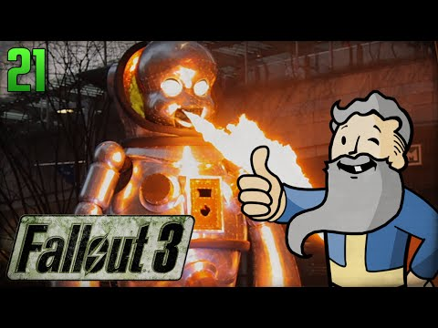 "Fallout 3 Gameplay Walkthrough FINALE - ""A JERK UNTIL THE BITTER END!!!"" 1080p HD"