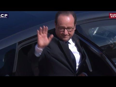 Emmanuel Macron prend la succession de François Hollande à l'Élysée