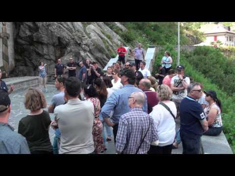 Visit to Devil's Bridge, Gotthard Pass and Fortress SASSO