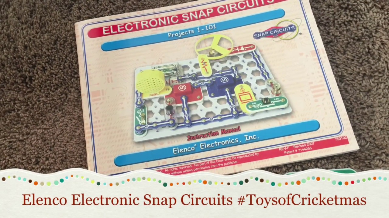Snap Circuits Electronics Kit For Kids Youtube