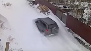Suzuki Grand Vitara Snow Сузуки гранд витара по снегу(На всех трёх камерах дата правильная 04.12.2015 год. Youtube пишет опубликовано днём раньше, значит привет всем..., 2015-12-04T05:01:02.000Z)