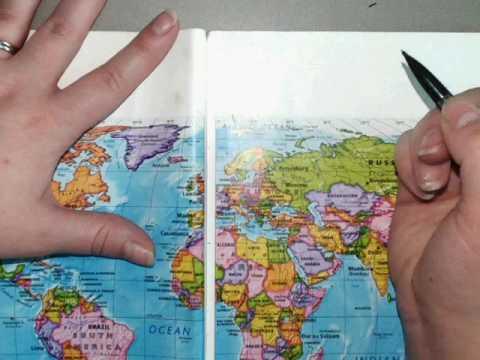 labeling world map