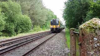 Trains Near Ashurst New Forest, With Tones, 25, 27 & 28th May 2017
