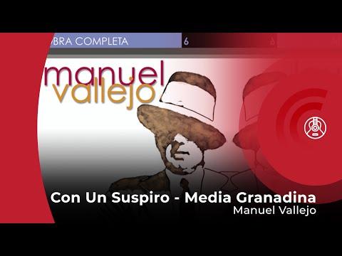 Manuel Vallejo - Con Un Suspiro - Media Granadina (con letra - lyrics video)