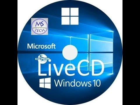 Create Windows 10 Live CD (easy Way)