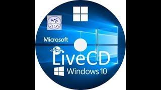 create Windows 10 Live CD (easy way)