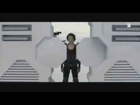 ProSieben Germany - Resident Evil Afterlife Trailer 2015