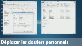 Déplacer le dossier personnel sur un autre disque | Windows