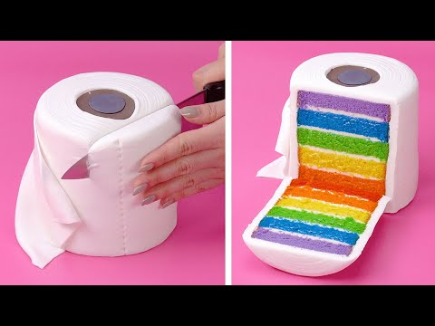10+ Simple and Easy Cake Decorating Ideas You'll Love   Most Beautiful Colorful Cake Videos