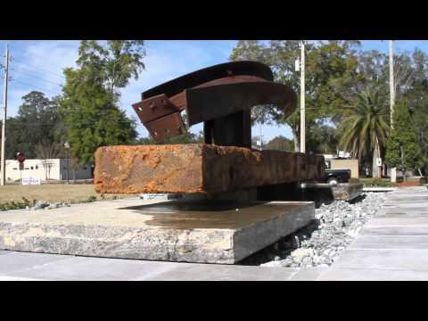 Hendricks Ave. Baptist Church Sculpture Unveiling - Jim Smith