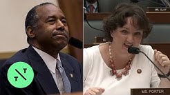 Rep. Katie Porter Schools Housing Secretary Ben Carson on Key Real Estate Term