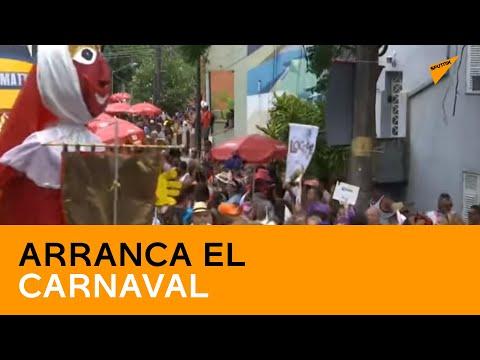 Arranca el Carnaval de Río, la mayor fiesta de Brasil