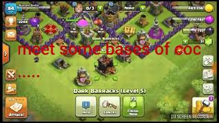 Clash of clans best rusher,max and unbiliveable bases.+ yad aah raha hai.