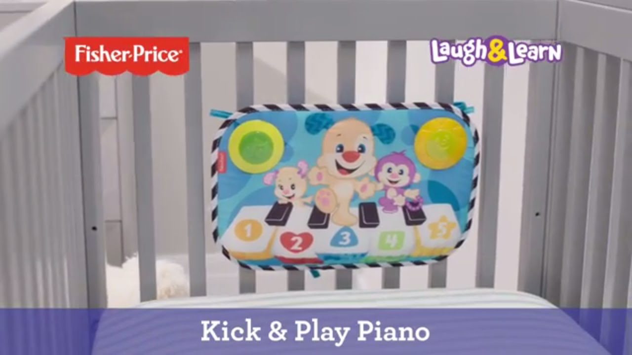 Kick Amp Play Piano Fisher Price Youtube