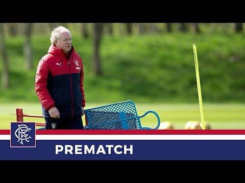 PREMATCH   Jimmy Nicholl   Rangers v Kilmarnock