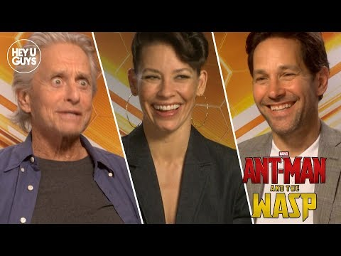 AntMan and the Wasp s  Paul Rudd, Michael Douglas, Evangeline Lilly