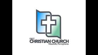 First Christian Church Online Service September 19, 2021