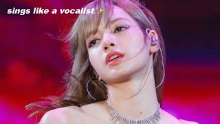 LISA'S REAL VOICE [BLACKPINK]