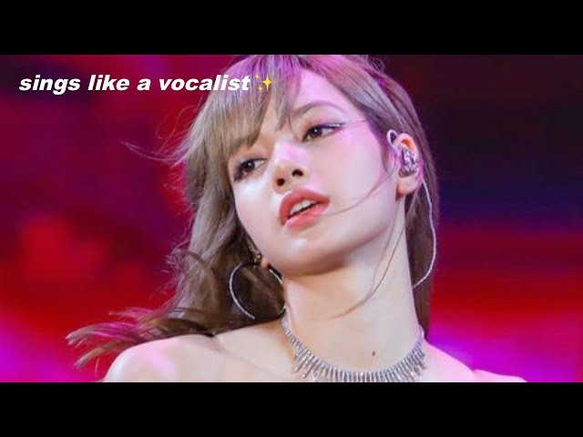 LISA'S REAL VOICE [BLACKPINK]
