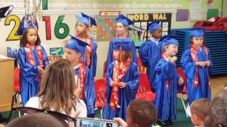 """Christian"" PreSchool Graduation 06/03/2016"