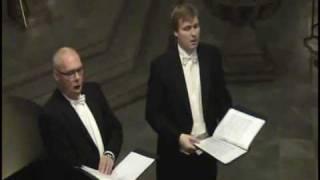 Glenn Bengtsson and Stellan Dahlin sing Julvisa by Sibelius in Helsingborg 2008