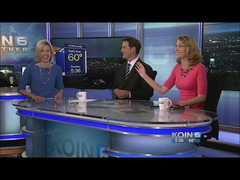 Naked News Picks Anchorwoman (CBS News) - YouTube