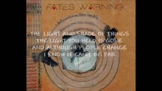 Fates Warning - The Light and Shade of Things (lyrics)
