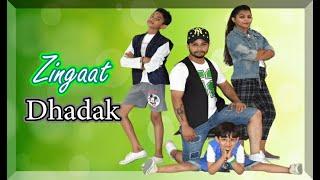 Zingaat Hindi | Dhadak | Ishaan & Janhvi | Ajay-Atul | Bollyhop Dance Choreography