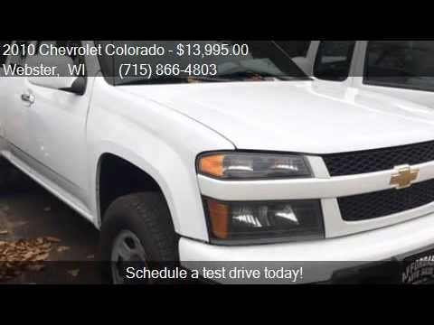 2010 Chevrolet Colorado Work Truck 4x4 4dr Extended Cab For