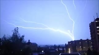 Bouřka 3. květen / Tstorm May 3rd 2017
