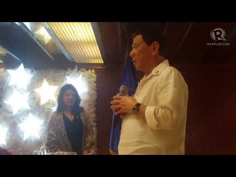 Duterte reminds gov't offices, don't display my photo