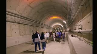 Visite Tunnel Tramway Nice Ligne 2