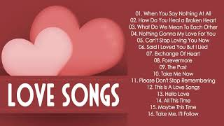 Soft Romantic Love Songs Of All Time - Best English Love Songs Ever - Greatest Beautiful Love Songs