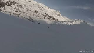 France 3 valleys Val Thorens Blanchot blue 2020 01 22
