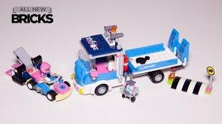 Lego Friends 41348 Service & Care Truck Speed Build