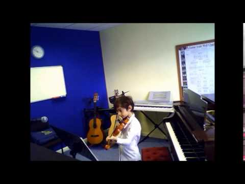 Violin  Nerses  Big Rock Candy Mountain  A to G Music School  Sutton  Teacher  Lessons