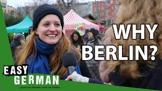 Why did you move to Berlin? | Easy German 278 Video
