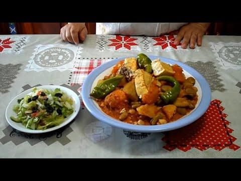 الكسكسي-التونسي-مع-السمك-(-بالحوت-)---couscous-recipe@المطبخ-التونسي-زكية---tunisian-cuisine-zakia