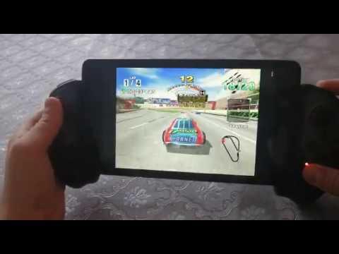 Vidéo de Daytona USA (Sega Dreamcast) sur la nouvelle console Retro Portable de 2 Players Shop