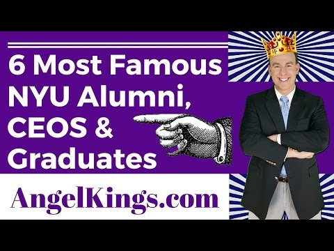 New York University Alumni: Most Famous and Notable Graduates - AngelKings.com