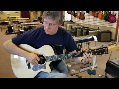 Dean Johnson Visits Hummingbird Music Studio Sugarcreek Ohio