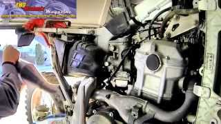 4WD Mechanix Magazine: Honda XR650R Top Engine Rebuild Trailer