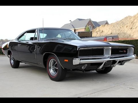 Dodge Challenger 1969 Black >> 1969 Dodge Charger Rt For Sale Youtube