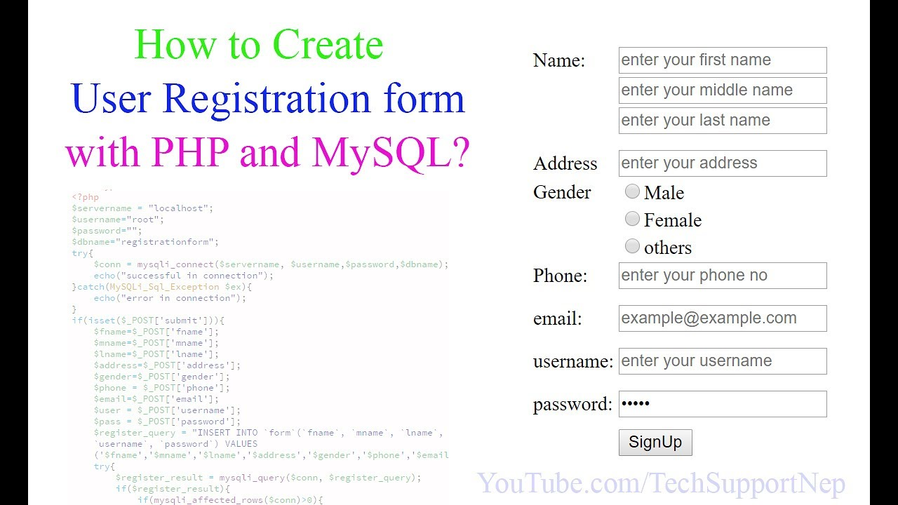 php register source code