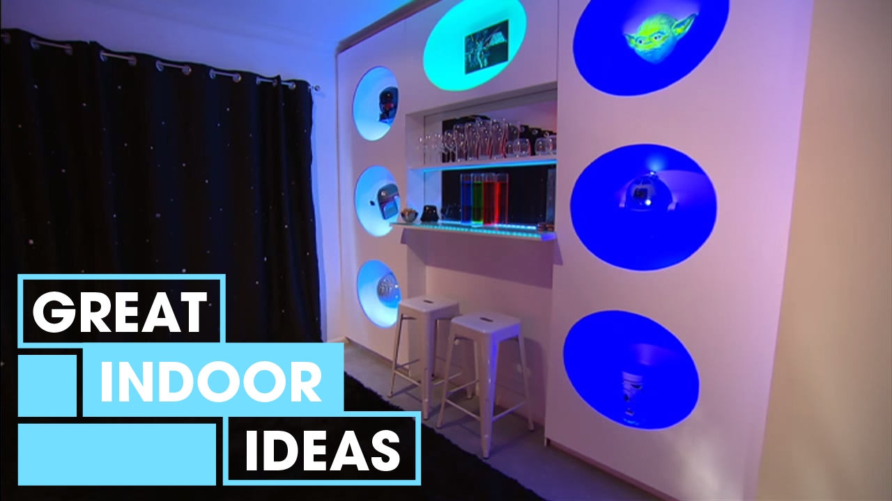 Futuristic Man Cave Makeover Indoor Great Home Ideas Youtube