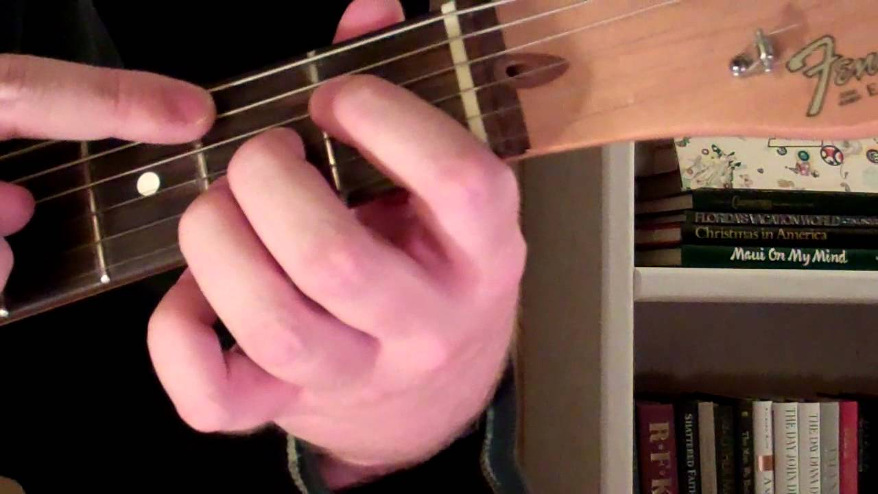 How To Play The A 5 Chord On Guitar A Diminished Fifth 5th Youtube
