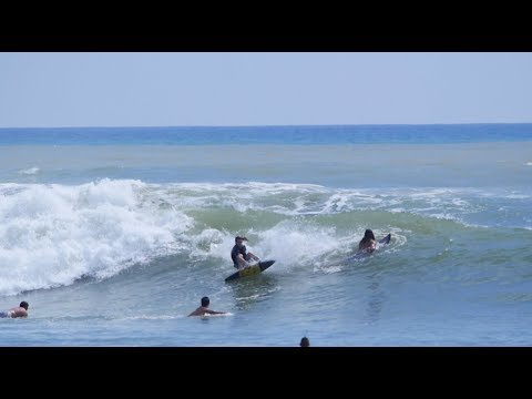 The Domke Daily 115: Switch Rail Grab 360 Turn To 360 Shove-It Pointbreak Skimboarding Big Combo