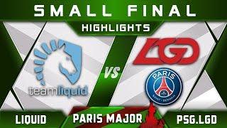 Liquid vs PSG.LGD [LEGENDARY] MDL Disneyland Paris Major 2019 Highlights Dota 2