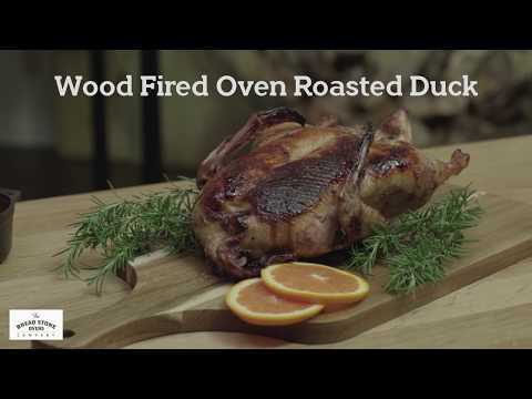 Wood Fired Oven Roasted Duck