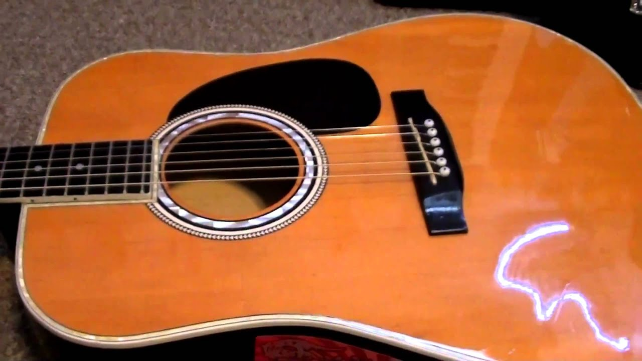 esteban american legacy acoustic guitar review and sound demo in hd youtube. Black Bedroom Furniture Sets. Home Design Ideas